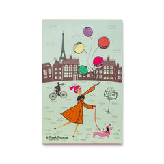 Paris Notebook - Fresh Frances Greeting Cards
