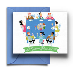 Passover Seder Card - Fresh Frances Greeting Cards