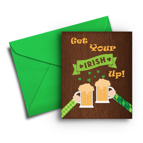 Irish Up St. Patrick's Day Card