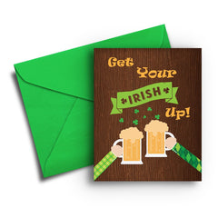 Irish Up St. Patrick's Day Card - Fresh Frances Greeting Cards