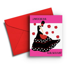 Muchas Gracias Thank You Card - Fresh Frances Greeting Cards