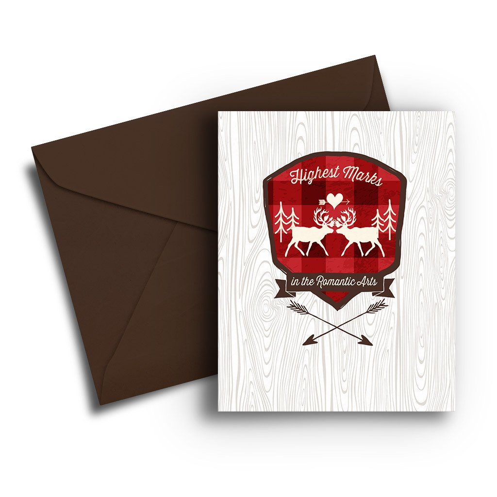 Highest Marks Valentine Card - Fresh Frances Greeting Cards