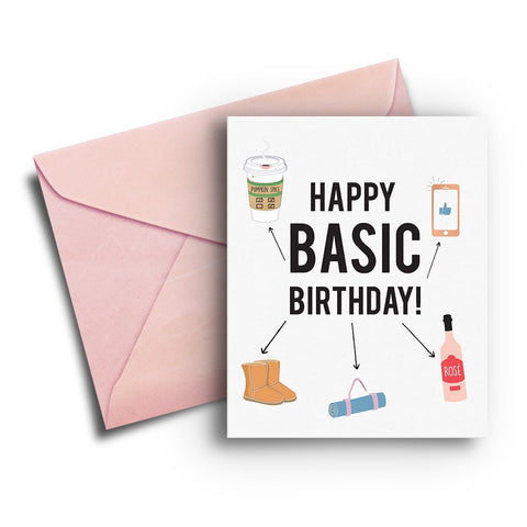 Basic Birthday Card