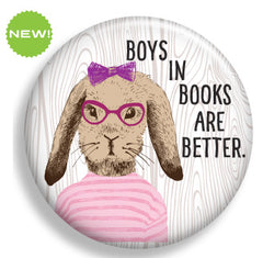 Boys in Books are Better Magnet