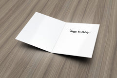 Deserve the World Birthday Card - Fresh Frances Greeting Cards