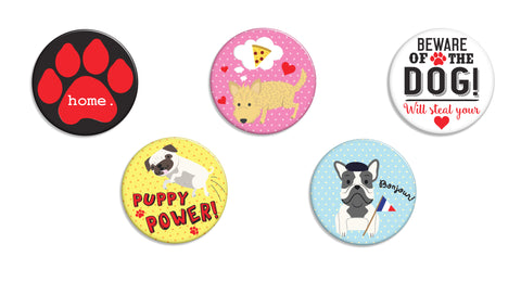 Dog Lovers Buttons
