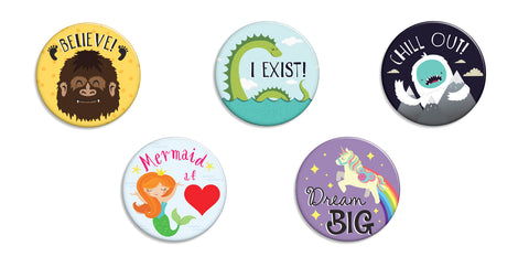 Fairytale Friends Buttons