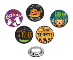 Halloween Bottle Openers - Fresh Frances Greeting Cards