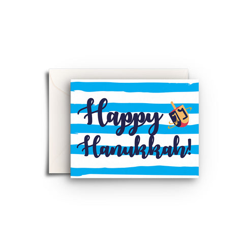 Hanukkah Stripes Gift Enclosure
