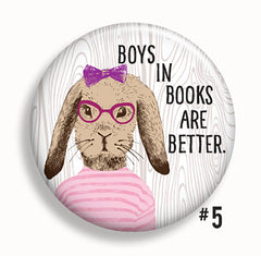Hipster Readers Buttons