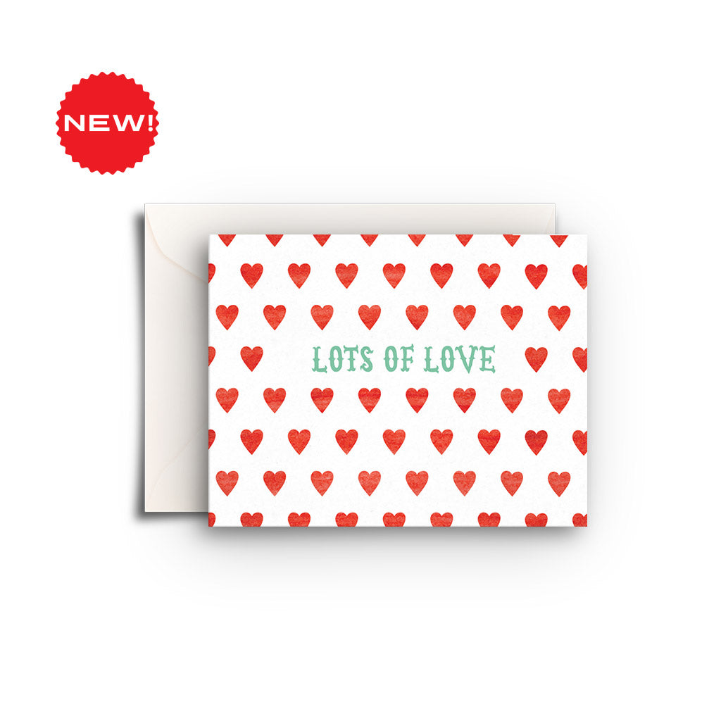 Lots of Love Hearts Gift Enclosure