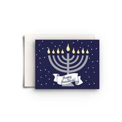 Hanukkah Menorah Gift Enclosure