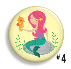 Magical Mermaid Buttons