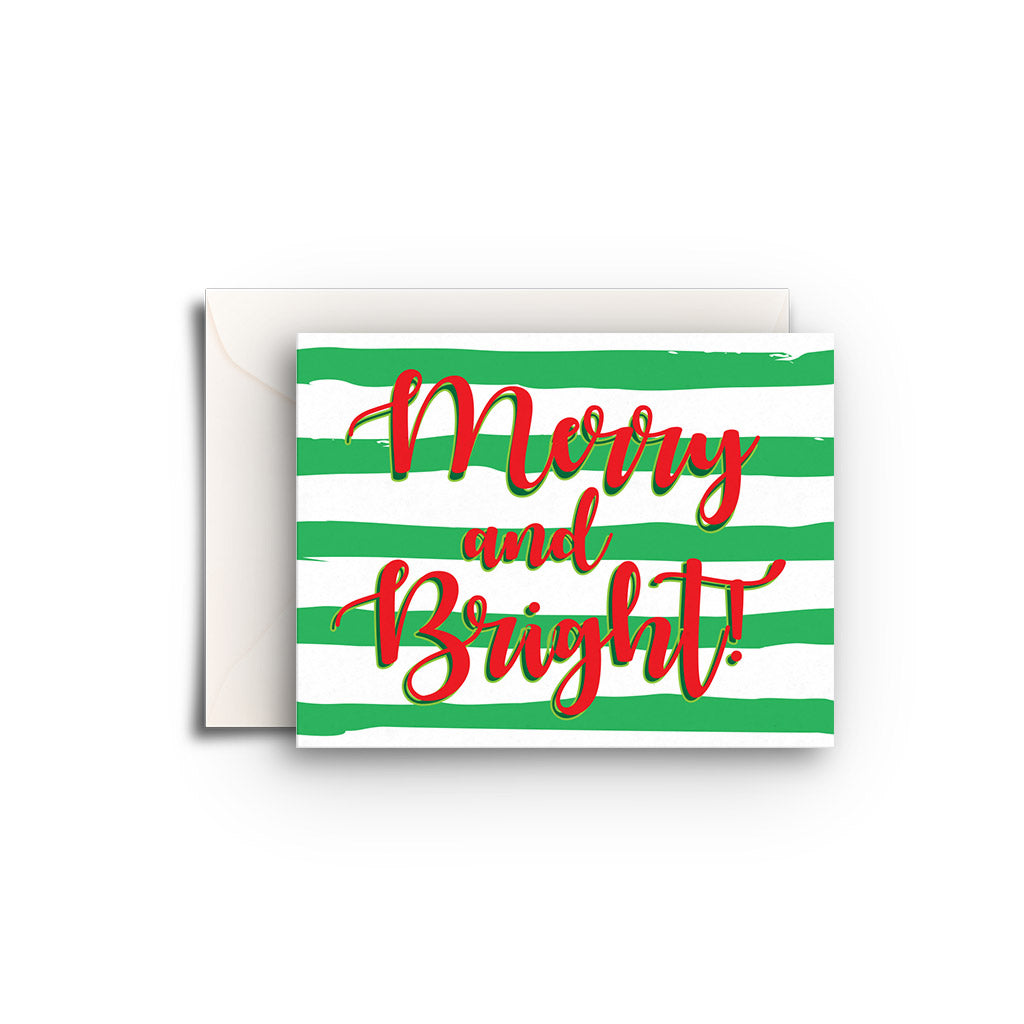 Christmas Stripes Gift Enclosure