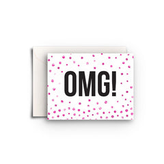 OMG! Gift Enclosure - Fresh Frances Greeting Cards