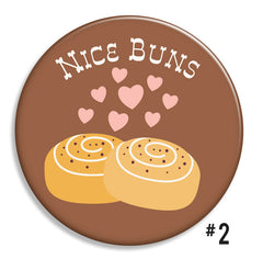 Love Pun Buttons