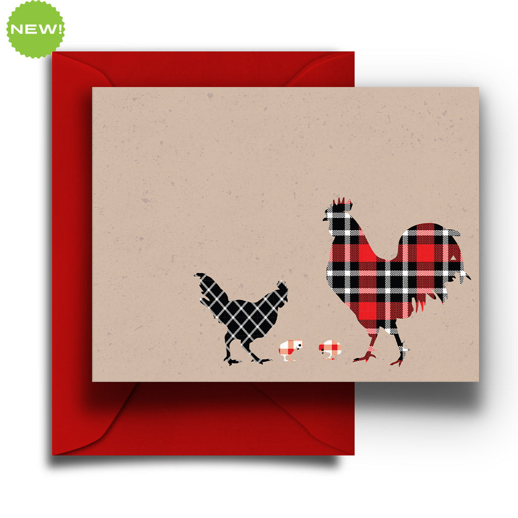 Rooster Boxed Notes