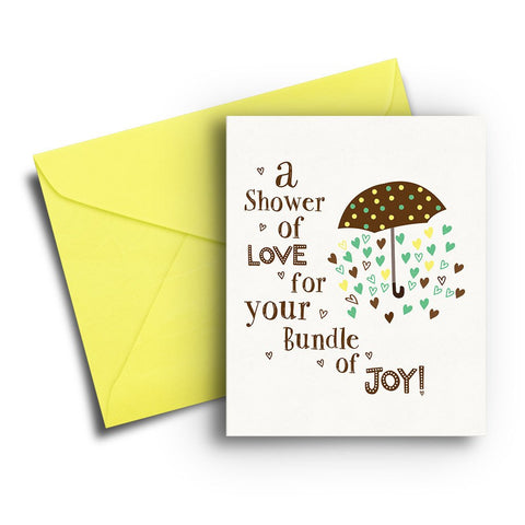 Bundle Of Joy Shower Card