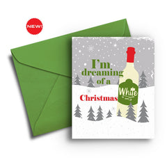 I'm Dreaming of a White Christmas Card - Fresh Frances Greeting Cards