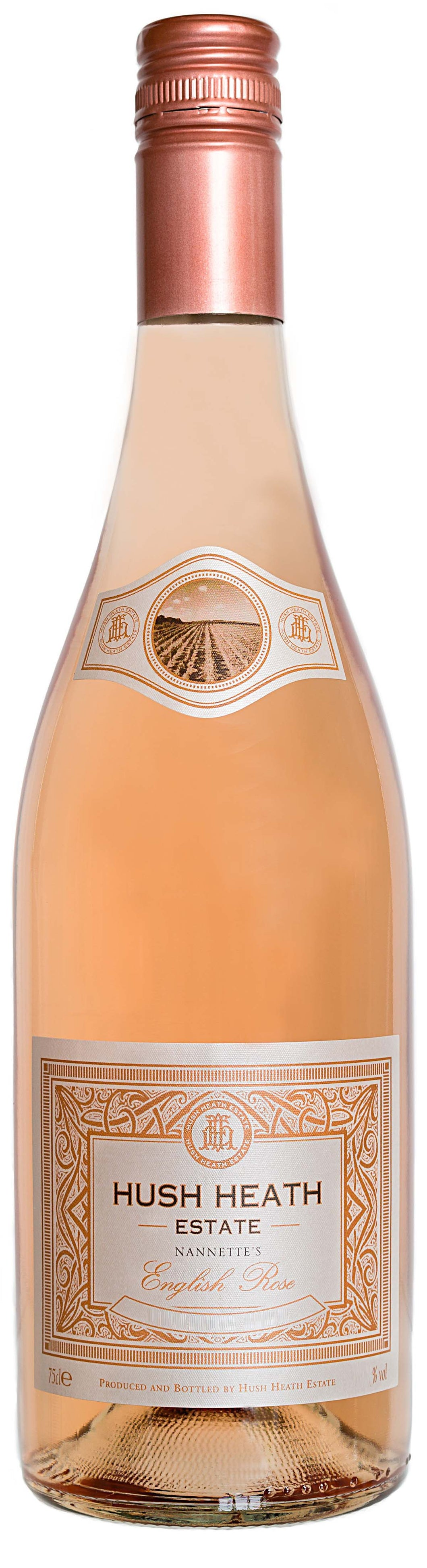 12 bottles of 2017 'Nannette's English Rose', Hush Heath Estate, Southern England