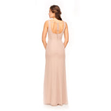 Chanel Bridesmaid Dress Back