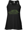 Image of Take A Hike - Bella Women's Flowy Tank Top (100% Made In The USA)
