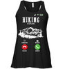 Image of Bella Women's Flowy Tank Top Top - Hiking Is Calling Collection (100% made in the USA)