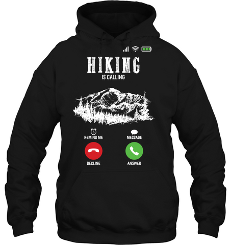 Gilden Hoodie - Hiking Is Calling Collection (100% made in the USA)