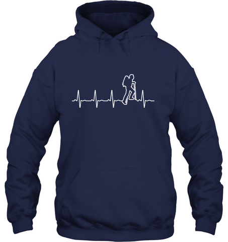 Gildan Heavy Hoodie - The Heart Beat Collection (100% made in the USA)