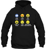 Image of Gilden Hoodie Hiking Emoji - (100% made in the USA)