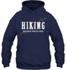 Image of Hiking Because People Suck - Gildan Heavy Hoodie - (100% Made In The USA)