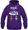 Image of Gilden Hoodie - Hiking Is Calling Collection (100% made in the USA)