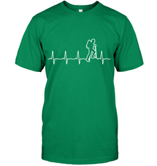 Hanes Heart Beat T Shirt -  The Heart Beat Collection (100% MADE IN THE USA)
