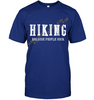Image of Hanes Tagless T shirt - Hiking Because People Suck Collection (100% made in the USA)