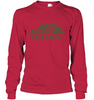 Image of Hanes Take A Hike Long Sleeve T - Shirt - (100% Made In The USA)