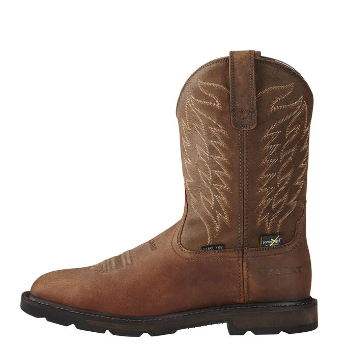 Ariat 10020063 Groundbreaker Square Toe Metguard Work Boots