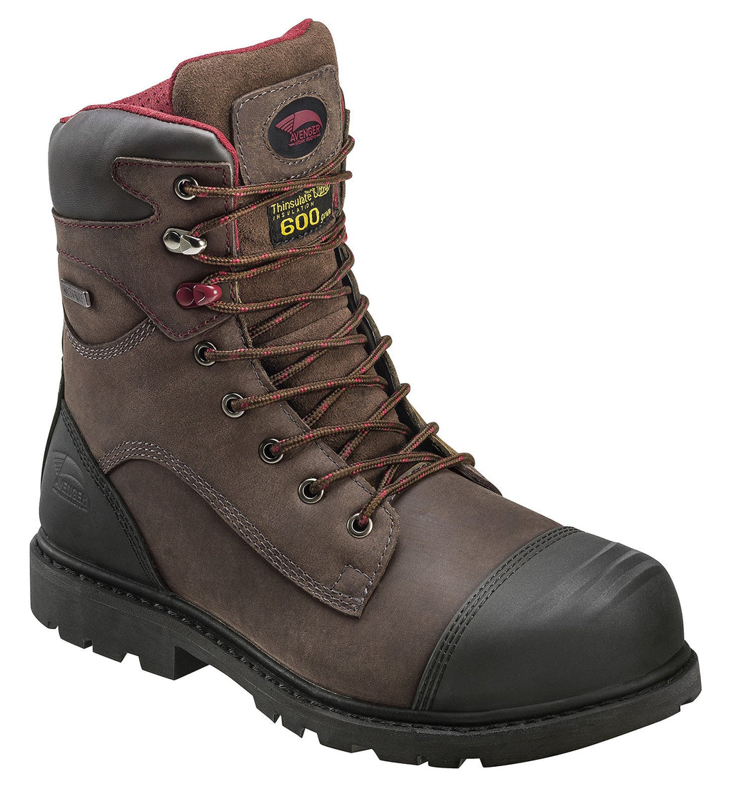 Avenger 7573 Hammer Insulated Carbon Toe Work Boots