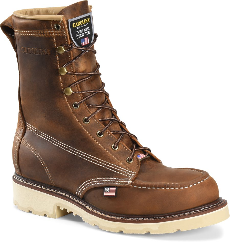 Carolina CA7516 Ferric USA Steel Toe Work Boots