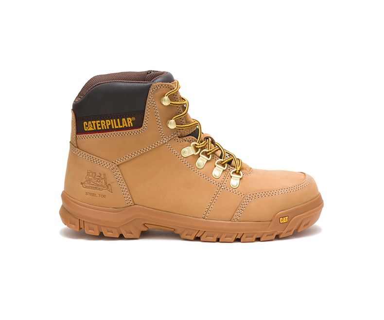 Cat P90801 Outline Steel Toe Boots
