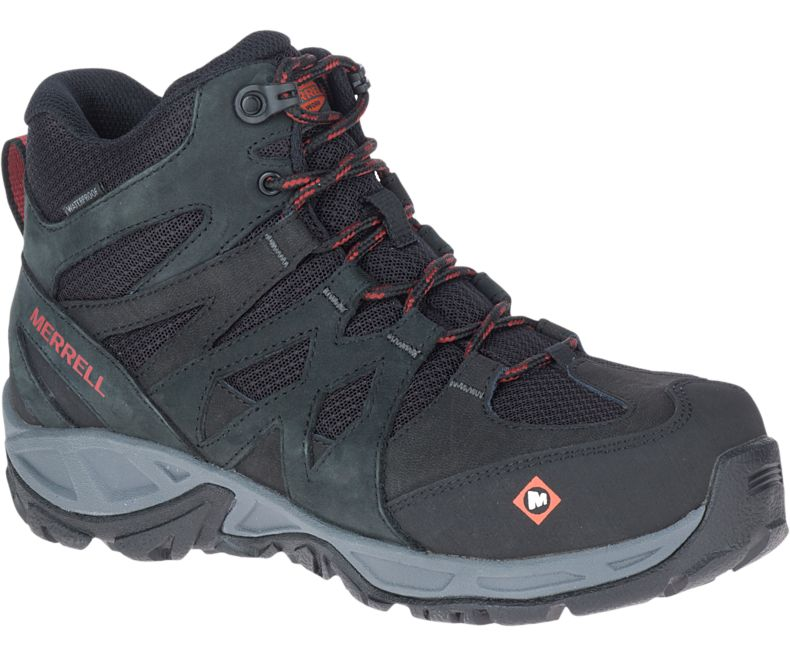 Merrell Women's Siren Mid Waterproof Work Boots