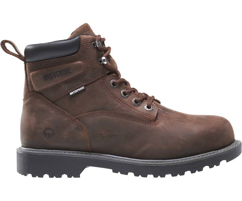 Wolverine 10633 Floorhand Waterproof Steel Toe Work Boots