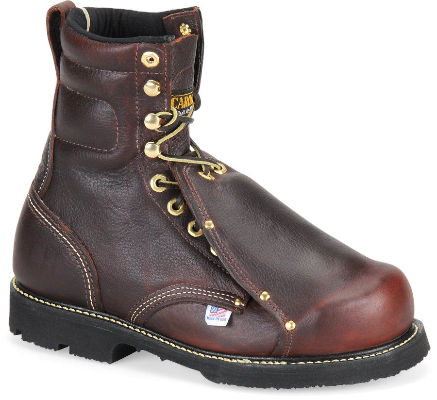 "Carolina 505 8"" Metguard, Men's, Brown, Kevlar Sewn, Vibram®, Heat Resistant"