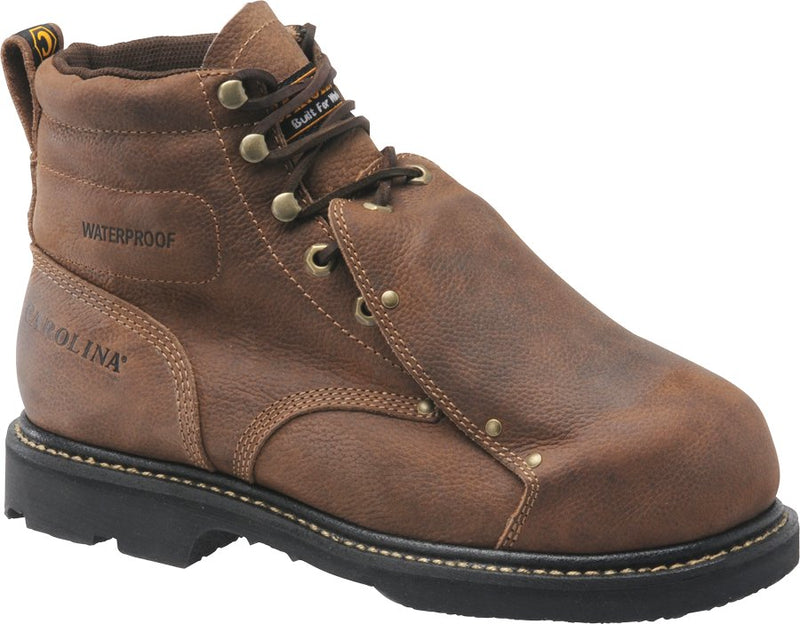 "Carolina 5501 Men's 6"" Broad Toe Met Guard Boots"