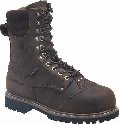"Carolina CA7921 Men's 8"" Insulated Waterproof Internal MetGuard Work Boots"