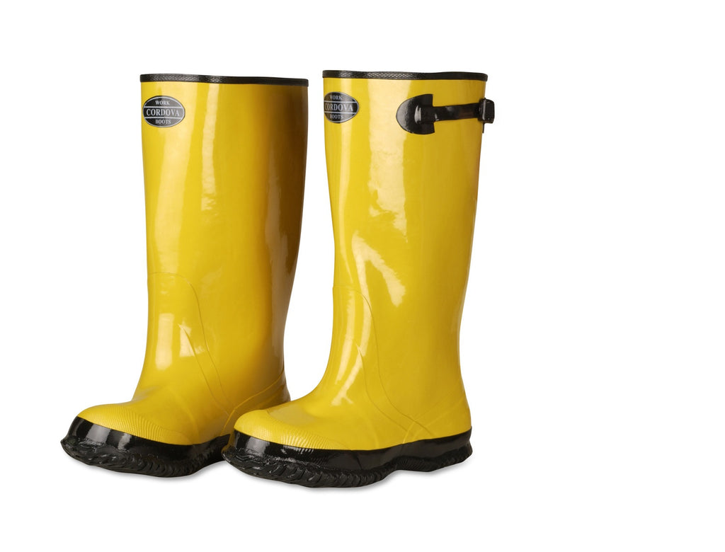 Quad City Safety Boots Rubber Slush Boots