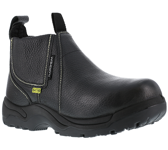 "Quad City Safety Boots FE690 6"" Men's Internal Met Kick Off (Foundry Boot) Black"