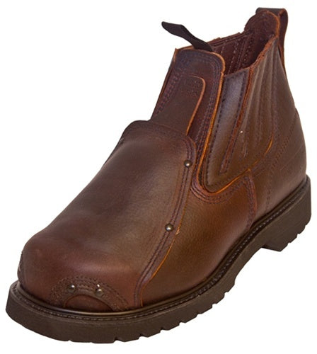 Quad City Safety Boots FS26866 Steel Toe Work Boots with External Met-Guard