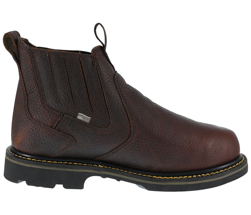 "Iron Age	IA5018 Groundbreaker 6"" Internal Met Guard Slip-On Work Boots"