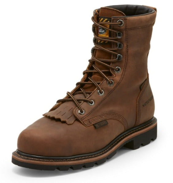 Justin Pulley Internal Met Guard Work Boots