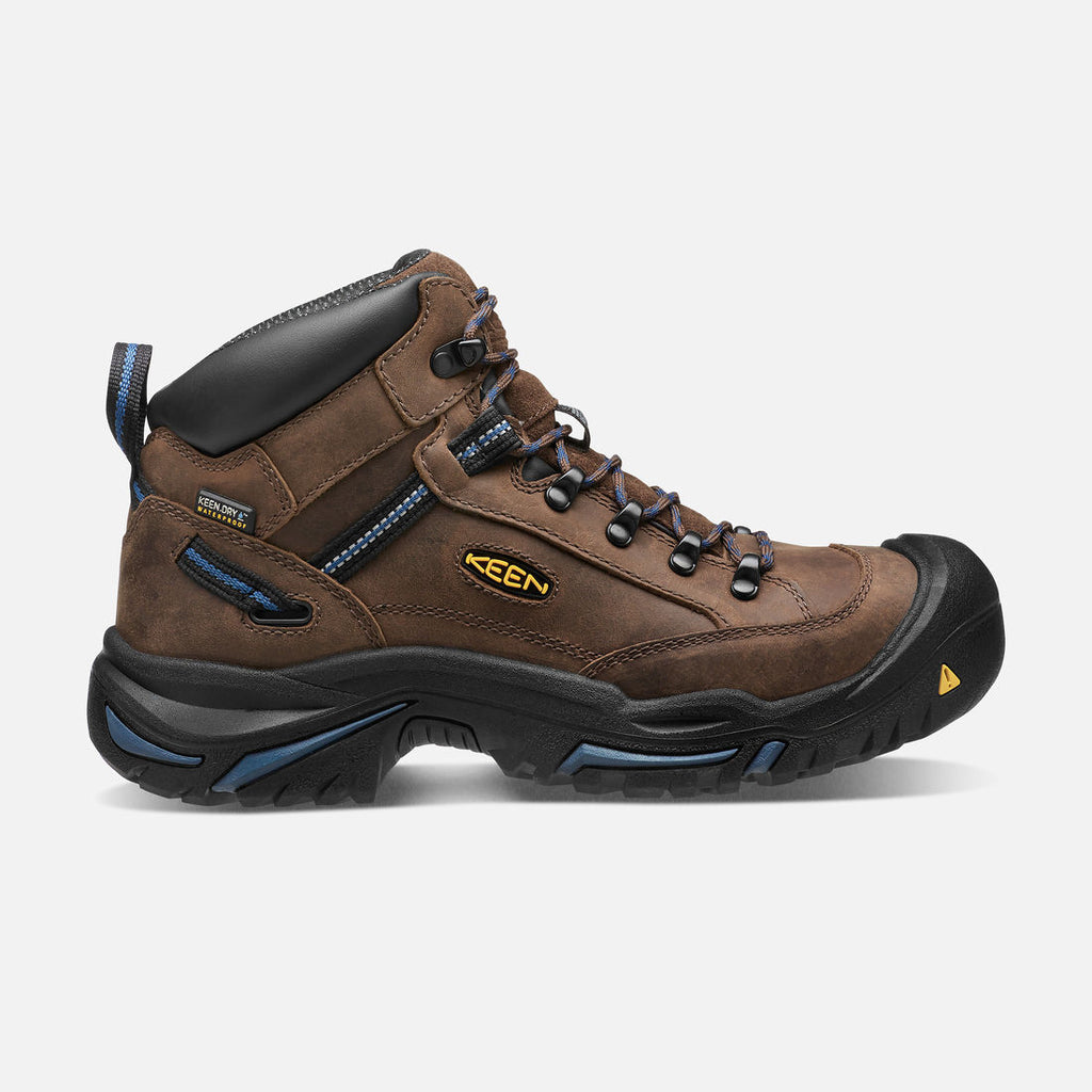 Quad City Safety Boots Men's Braddock Mid AL Boots